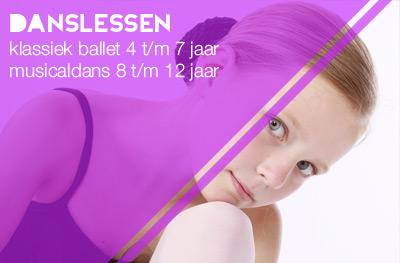 danslessen klassiek ballet en musicaldans
