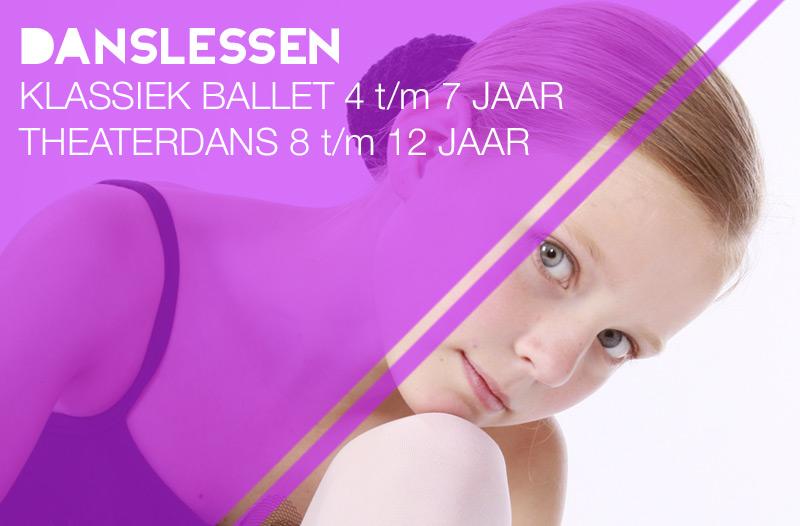danslessen klassiek ballet en theaterdans zwolle