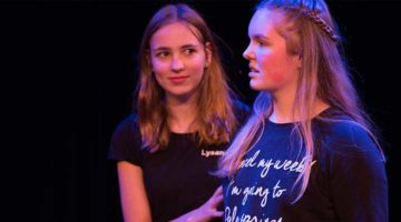 Jeugdtheaterschool Zwolle opleidingsklassen jongeren vooropleiding theaterschool acteercursus