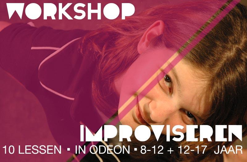 workshop improviseren jeugdtheaterschool zwolle