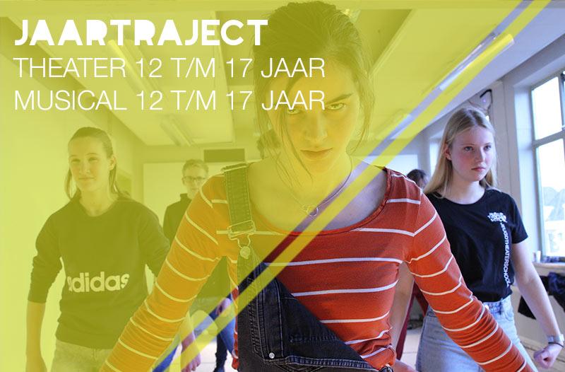 theater of musical jongeren 12 t/m 17 jaar jeugdtheaterschool Zwolle