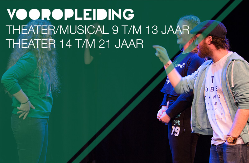 Vooropleiding theater en musical Jeugdtheaterschool Zwolle