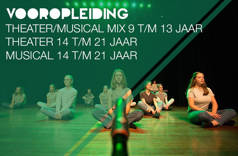 Vooropleiding - theater - musical - mix - Jeugdtheaterschool Zwolle