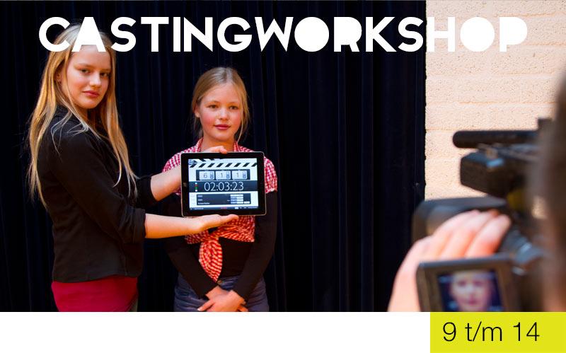 CastingWorkshop - 9 t/m 14 jaar - Jeugdtheaterschool Zwolle i.s.m. Xapp Kindercasting