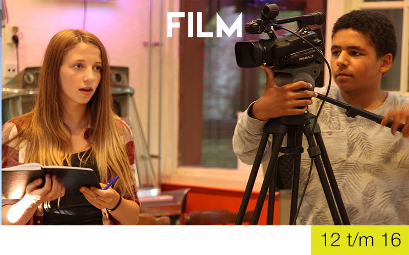 Cursus Film - Jongeren - Jeugdtheaterschool Zwolle