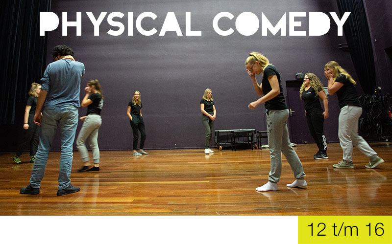 Physical comedy - jongeren - Jeugdtheaterschool Zwolle