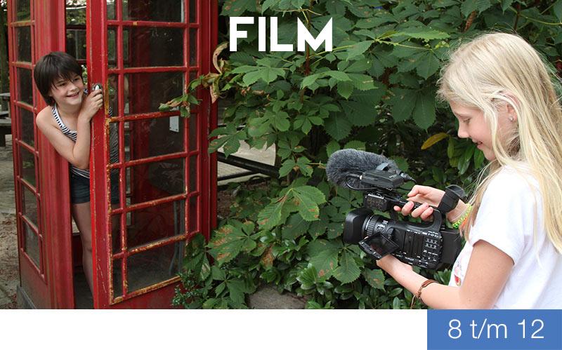 Cursus Film - 8 t/m 12 jaar - jeugdtheaterschool Zwolle