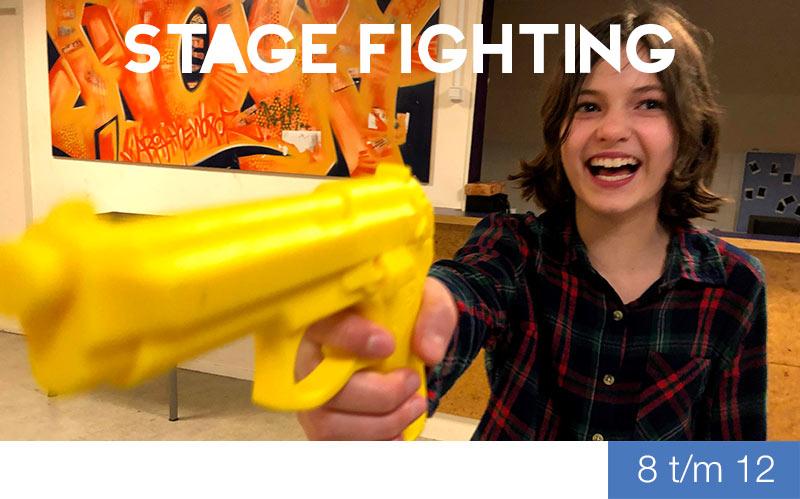 Stage Fighting - 8 t/m 12 jaar - Jeugdtheaterschool Zwolle