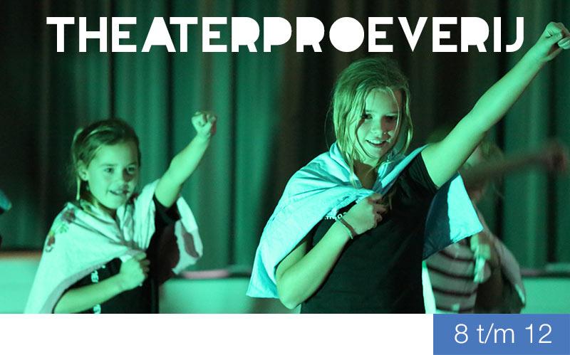 Theaterproeverij voor kinderen - Jeugdtheaterschool Zwolle
