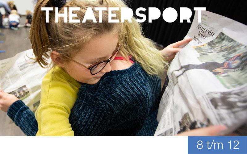 Theatersport - 8 t/m 12 jaar - Jeugdtheaterschool Zwolle