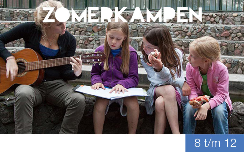 zomerkampen - 8 t/m 12 jaar - Jeugdtheaterschool Zwolle i.s.m. Xapp Zomerkamp