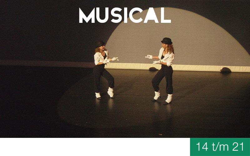 Vooropleiding MUSICAL - 14 t/m 21 jaar - Jeugdtheaterschool Zwolle