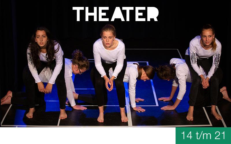 Vooropleiding THEATER - 14 t/m 21 jaar - Jeugdtheaterschool Zwolle