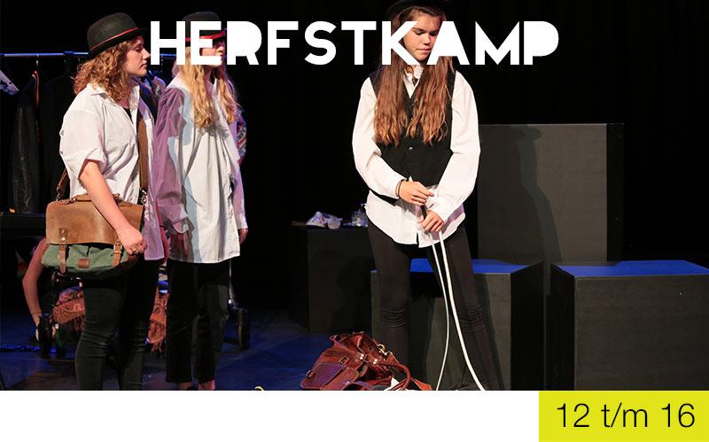 herfstkamp jongeren jeugdtheaterschool